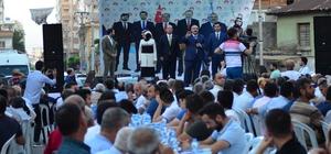 Osmaniye'nin AK adayları tanıtıldı Osmaniye'de AK Parti milletvekili adayları, iftar programında tanıtıldı