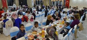 Çocuk evleri sitesi ve çocuk evleri koordinasyon merkezinde kalan çocuklar iftarda biraraya geldi