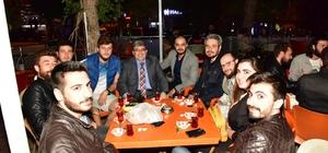 Başkan Can, iftar sonrası vatandaşlarla buluştu