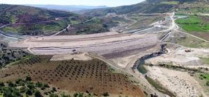 Yukarı Afrin Barajı'nın inşaatında sona yaklaşıldı