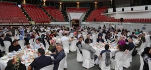 Büyükşehir ailesinin iftar programları devam ediyor