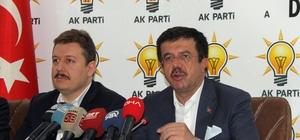 """Bakan Zeybekci'den ihracatçılara döviz kurunun sabitlendiği müjdesi Ekonomi Bakanı Nihat Zeybekci: """"ABD doları 4,20, euro 4,90, İngiliz sterlini için 5,60 olarak kurlar sabitlendi ihracatçılarımız için"""" Türk Eximbank aracılığı ile kullanılan yabancı para cinsinden kredilerde döviz kuru sabitlendi"""