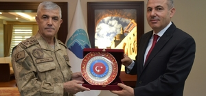 Jandarma Genel Komutanı Çetin, Ağrı'da