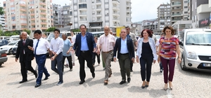 Başkan Böcek'ten Kumluca ziyareti