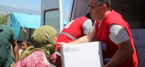 Suriyelilere yönelik ramazan yardımları