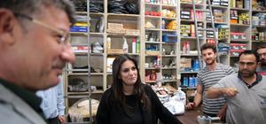 Bakan Sarıeroğlu'ndan Adana'da esnaf ziyareti