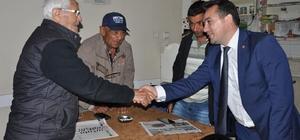 İYİ Parti adayı Eryılmaz, Ahmetli'de vatandaşı dinledi