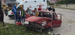 Domaniç'te trafik kazası: 3 yaralı