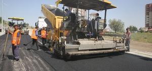 Taha Carım Bulvarı 2. etap asfaltlama çalışması başladı