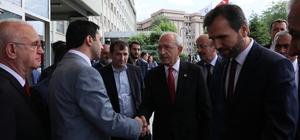 Kılıçdaroğlu'ndan hastane ziyareti