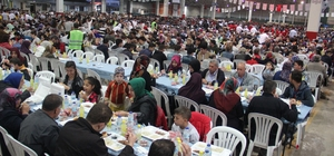 Kale ailesinden 18 bin kişilik iftar yemeği