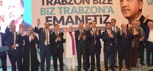 AK Parti Trabzon Milletvekili aday tanıtım toplantısına yoğun ilgi