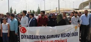 AK Parti adaylarına coşkulu karşılama