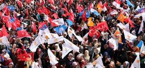 AK Parti Van milletvekili adaylarına coşkulu karşılama