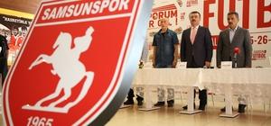 1. Samsun ve Futbol Çalıştayı Samsunspor için yol haritası hazırlanıyor