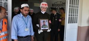 Kaza kurşunuyla ölen asker Kütahya'da toprağa verildi