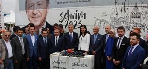 """""""Şehrim 2023"""" otobüsü Samsun'da"""