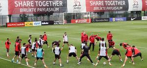 A Milli Futbol Takımı, hazırlıklarına devam etti