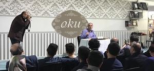 """Nurullah Genç, """"Ayasofya Ramazan Sohbetleri""""nin konuğu oldu"""