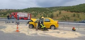 Kula'da trafik kazası: 1 ölü