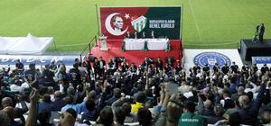 Bursaspor Kulübünün kongresi başladı