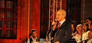 Bakan Kurtulmuş, Diyar-ı Huzur programına katıldı