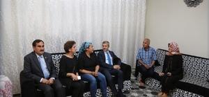 Şahinbey Belediye Başkanı Tahmazoğlu'ndan ev ziyaretleri