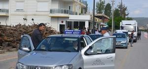 72 Sürücü adayı ehliyet için ter döktü