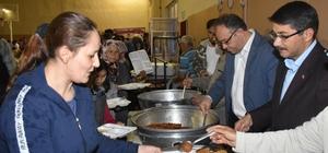 Şehzadeler'in iftar sofrası Sancaklıbozköyde kuruldu