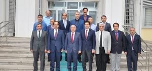Müsteşar Yardımcısı Büyük Tekirdağ'da incelemelerde bulundu