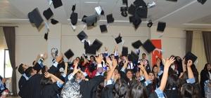 Sivrihisar'da mezuniyet sevinci
