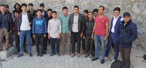 Van'da 23 kaçak yakalandı