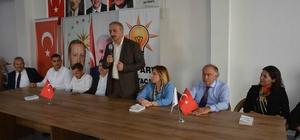 AK Parti Ortaca'da adaylarını tanıttı