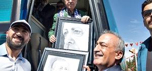 Atatürk Üniversiteli öğrencilerden Cumhurbaşkanı Erdoğan'a sevgi gösterisi