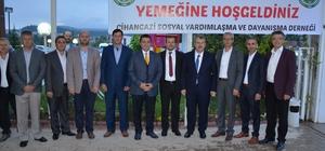 Başkan Bakıcı, Cihangazililer Derneği'nin iftarına katıldı