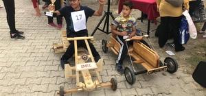 Tahta Araba Yarışmasında öğrenciler ter döktü