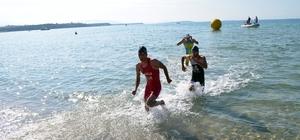 Türkiye Triatlon Federasyonu Didim Triatlonu tamamlandı