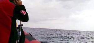 Balıkesir'de kayıp balıkçıları arama çalışması denizden ve havadan sürüyor Kayıp balıkçılara hala ulaşılamadı