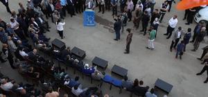 AK Parti heyeti Doğanşehir'deydi