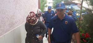 Jandarmaya yakalanan suç makinesi 5 kişi tutuklandı