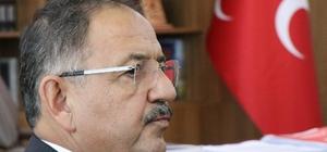 """Bakan Özhaseki MHP İl Başkanlığını ziyaret etti Çevre ve Şehircilik Bakanı Mehmet Özhaseki: """"İçinde bulunduğumuz ortam sıradan bir seçim ortamı değil"""" """"Türkiye bir beka sorunu ile karşı karşıya"""" """"Kayseri'de daha önceki ittifaklar da sıfıra karşı alınmıştı"""""""