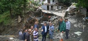 Başkan Dündar, sel mağdurlarının yanında Osmangazi ekipleri sel mağdurları için seferber oldu