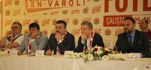 """Başkan Taşçı: """"Herşey Samsunspor için"""" Atakum Belediye Başkanı İshak Taşçı: """"Şehrimizin en önemli markası, Samsunspor'dur"""""""