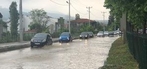 Bursa'da kuvvetli yağış