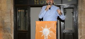 """""""15 Temmuz mücadelesi AK Parti'ye 'evet' oyu vermektir"""""""