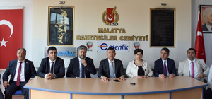 Ağbaba'dan Malatya Gazeteciler Cemiyetine ziyaret