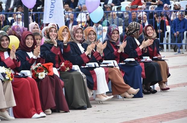 Omu I Lahiyat Fakultesi 500 Mezun Verdi Samsun Haberleri