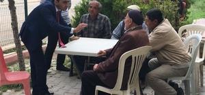MHP Milletvekili Adayı Satılmış seçim çalışmalarını sürdürüyor
