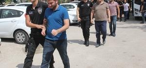 Ankesörlü telefondan çağrıyla haberleşen 32 FETÖ'cü asker adliyeye sevk edildi Adana'da gözaltına alınan ve aralarında yarbay, albay, binbaşı ile yüzbaşının da bulunduğu 32 FETÖ şüphelisinin sorgulaması tamamlandı