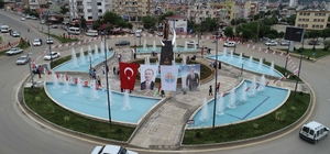 Kozan'a kurtuluş hediyesi Adana Büyükşehir Belediye Başkanı Hüseyin Sözlü kavşağın oluşturduğu meydana 'Atatürk Meydanı' ismini verdi